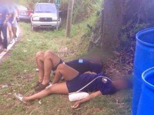 Algunas damas estaban tan borrachas que encontraban en el pasto y tierra dura, un confortable espacio para dormir.